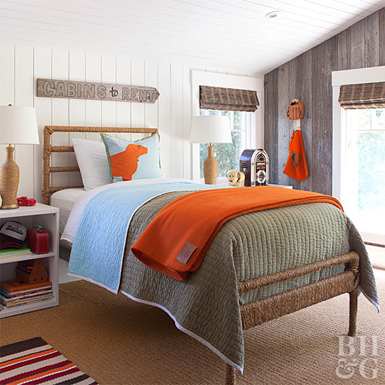 Accented Neutral Color Scheme Bedroom: Better Homes & Gardens