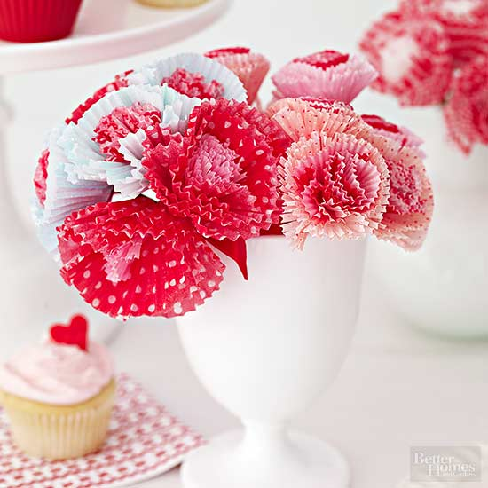 Frilly Paper Flowers