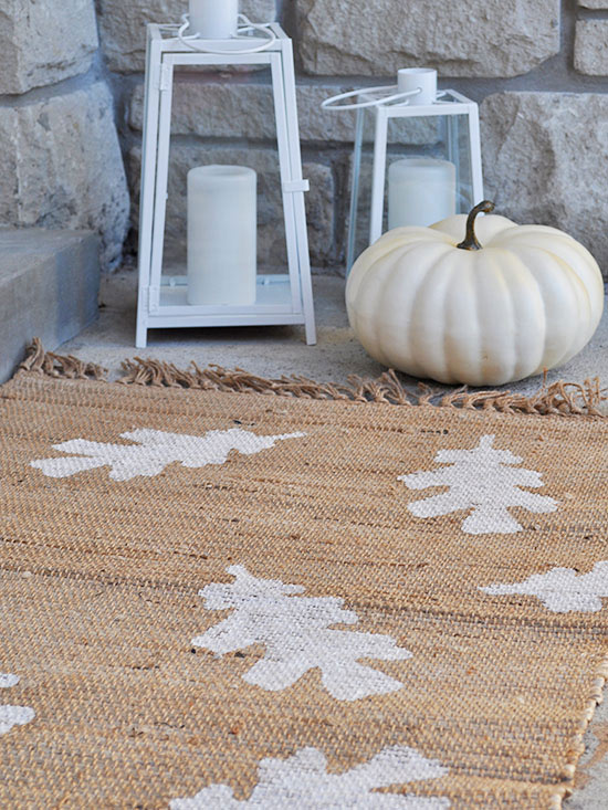 Autumn Leaf Doormat