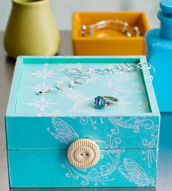 Bedside Treasure Chest