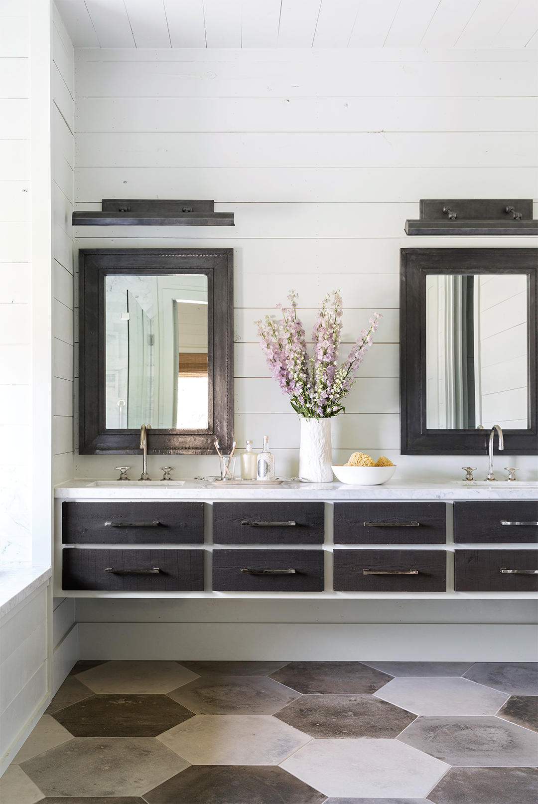 fetching contemporary bathroom design | Farmhouse Bathrooms | Better Homes & Gardens
