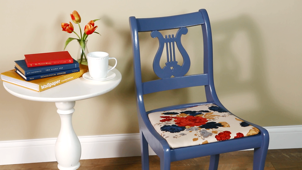 Reupholster a Dining Room Chair