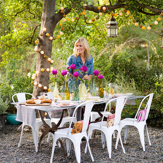 Outdoor Party Idea: An Alfresco Affair