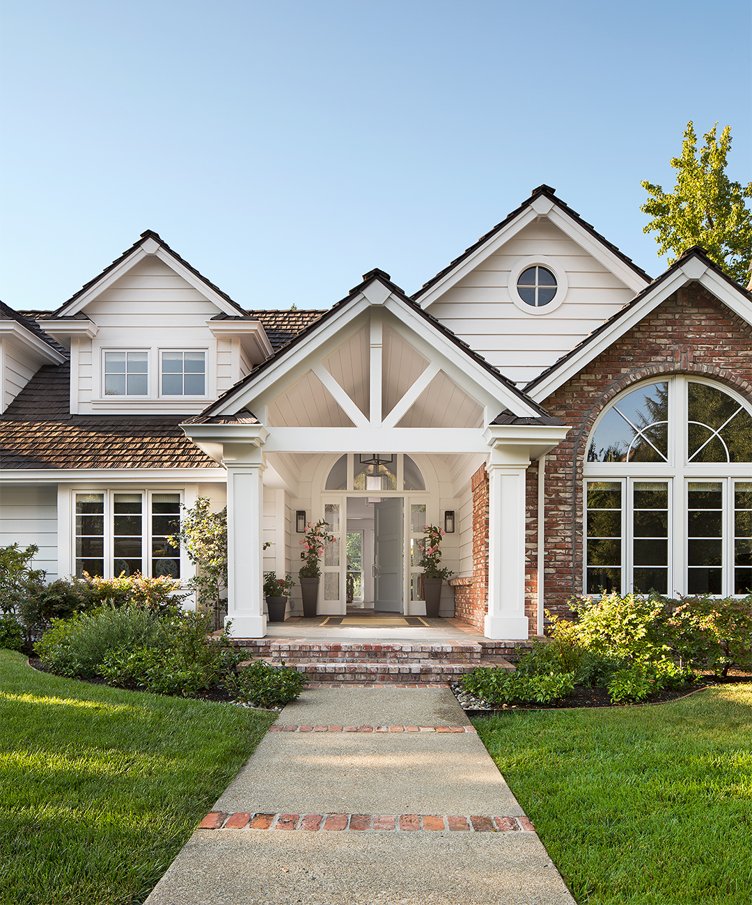 Ranch Home Updates Before and After: Home Exteriors