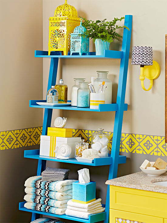 Stagger Shelves