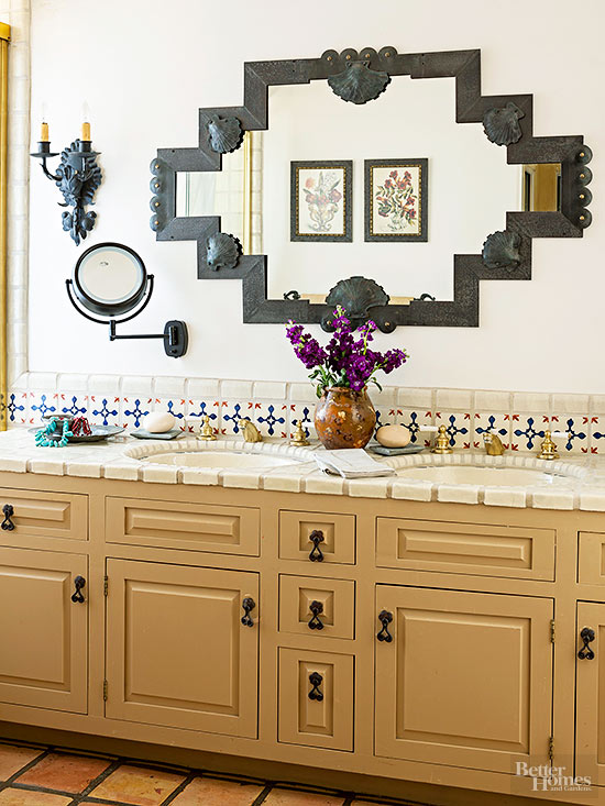 How to Tile a Vanity