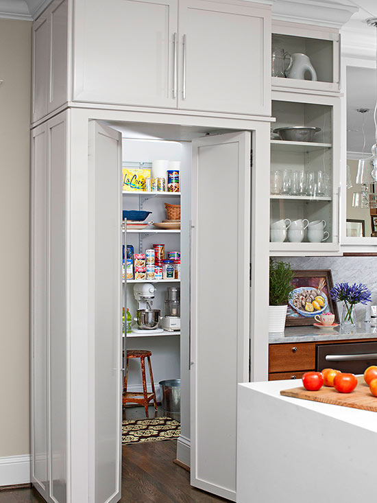 Walk In Pantry Cabinet Ideas Better Homes Amp Gardens