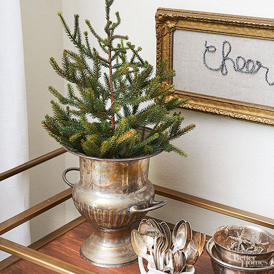 Tip #17: Decorate with Mini Trees