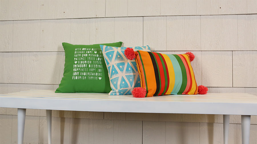 Quick Ways to Update Outdoor Pillows