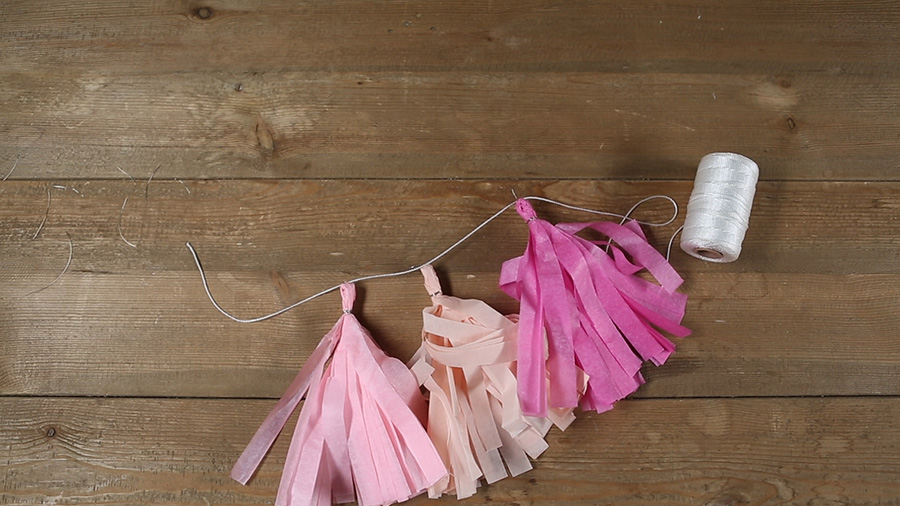 Adorable Paper Tassels: $5 Decor Idea!