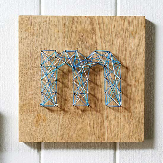 Easy DIY String Art