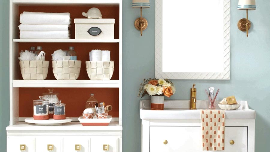 Easy Cheap Bathroom Storage Ideas