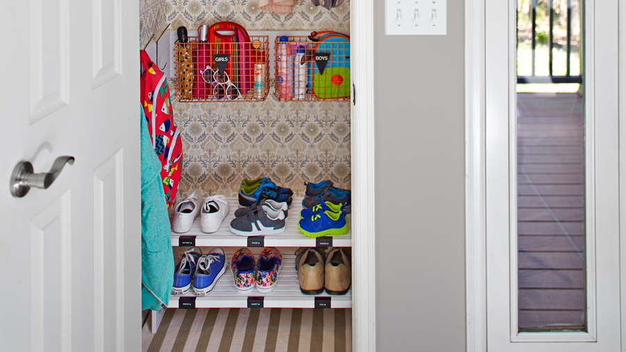 Double Closet Space with ONE Simple Swap