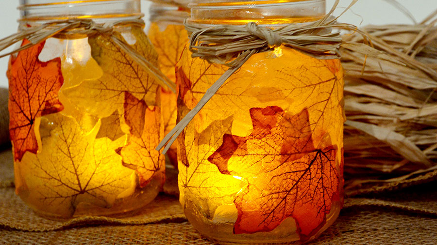 37 Easy And Stunning Fall Craft Ideas
