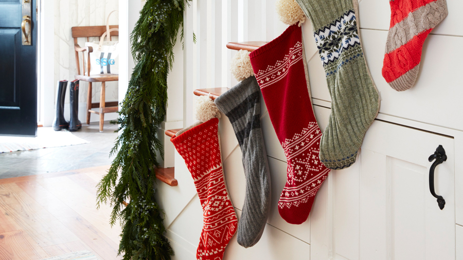 How to Turn Christmas Sweaters into Christmas Stockings