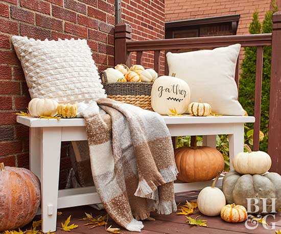 This Pumpkin-Packed Halloween Door Display is Simply Adorable