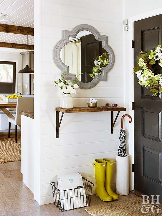 No Entryway No Problem Here S How To Fake It Better
