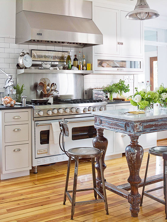 Inexpensive Kitchen Flooring Ideas | Better Homes & Gardens on inexpensive kitchen flooring options, temporary floor for laminate kitchen, best flooring for kitchen, inexpensive tile for kitchen,