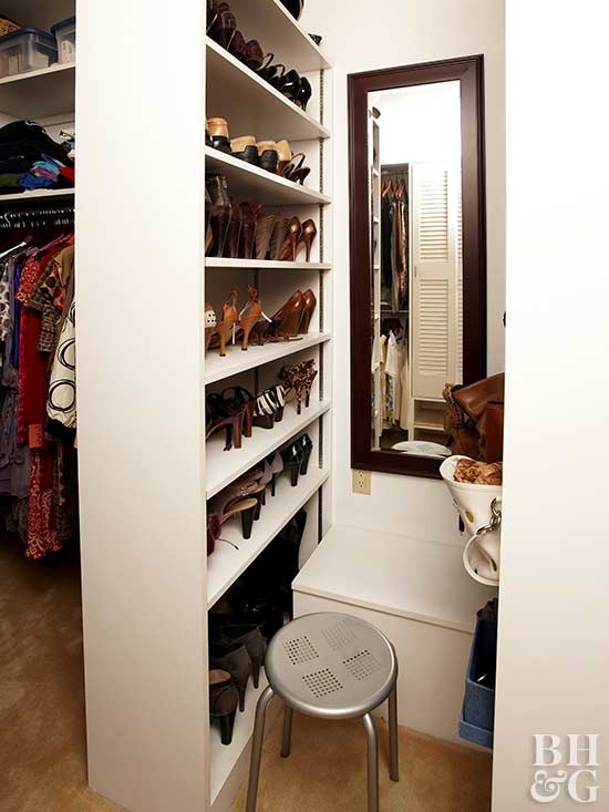 Small Walk In Closet Design Ideas Better Homes Gardens