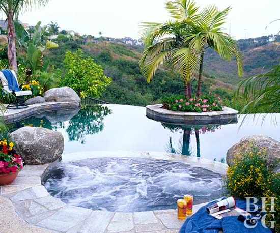 Infinity Pools | Better Homes & Gardens