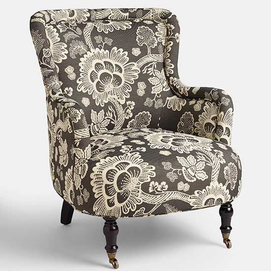 World Market Floral Chair