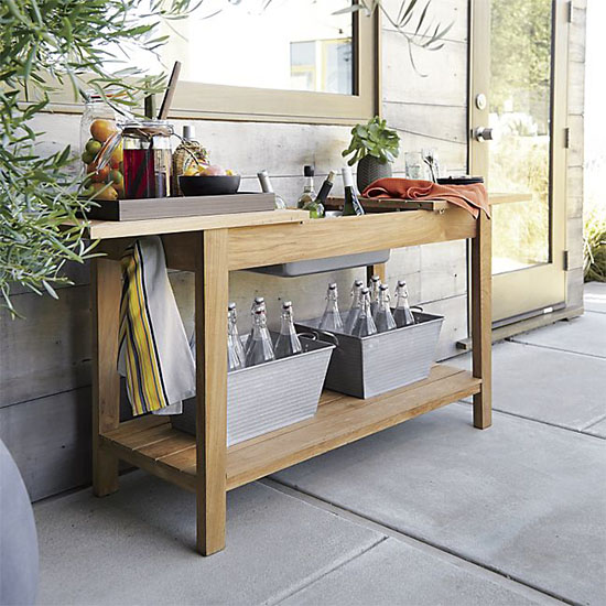 Deal of the Day: Up to 20% Off Outdoor Furniture at Crate & Barrel