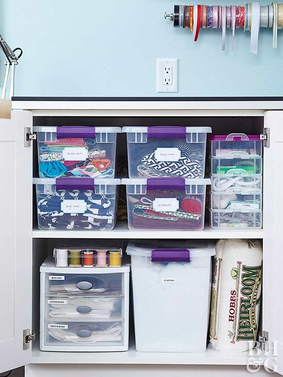Fresh Ideas To Organize Your Sewing Room Better Homes Gardens