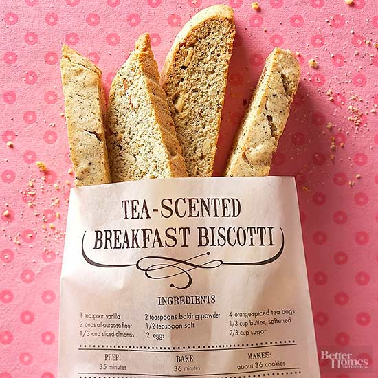 Tea-Scented Breakfast Biscotti
