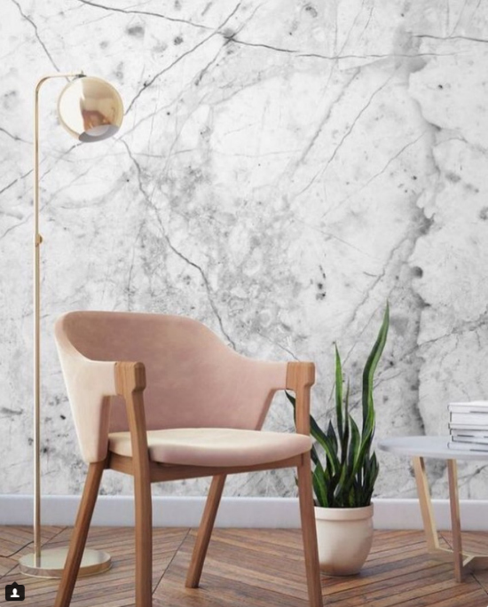 Marble Wallpaper Looks We Can't Get Enough Of