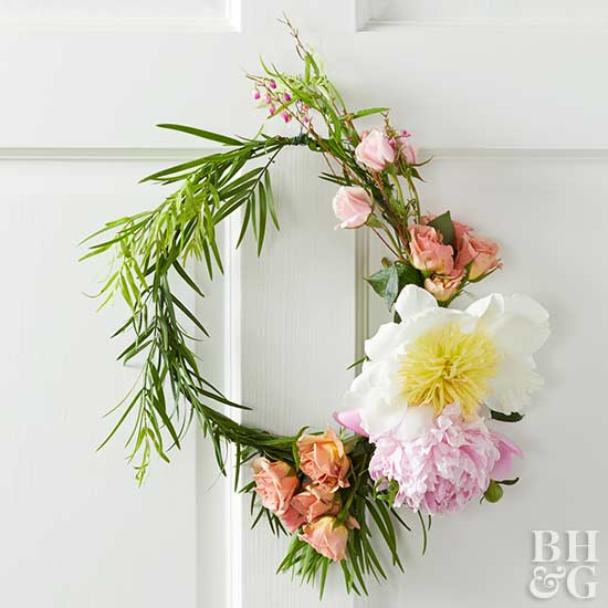 Pretty Easter and Spring Door Decorations