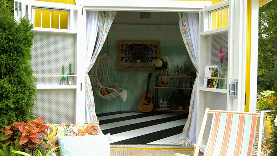Genius Ways to Store More in Your Outdoor Shed