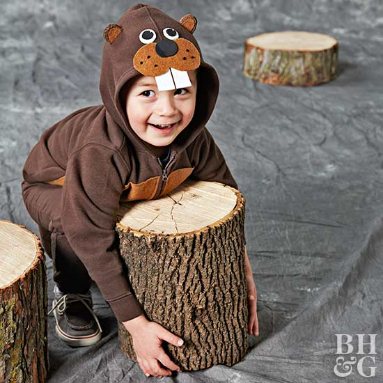 How to Make an Adorable Beaver Costume