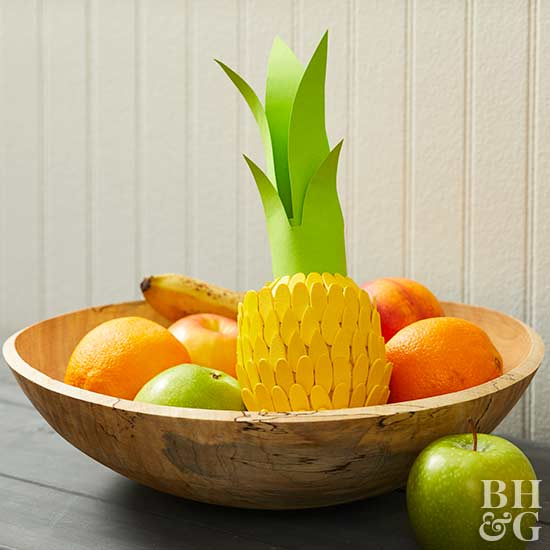 DIY pumpkin pineapple, DIY, fruit