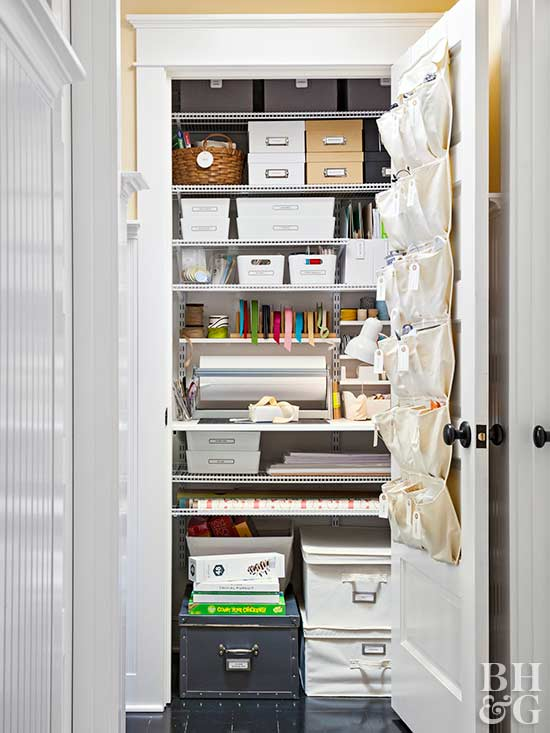 How to Get A Super Organized Family Closet