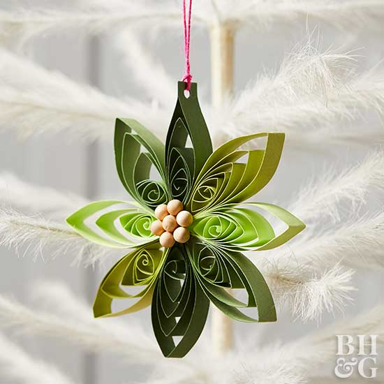 Quilled Paper Ornaments Better Homes Gardens