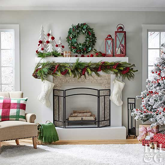 Give Your Mantel a Holiday Upgrade with These Charming Decor Ideas