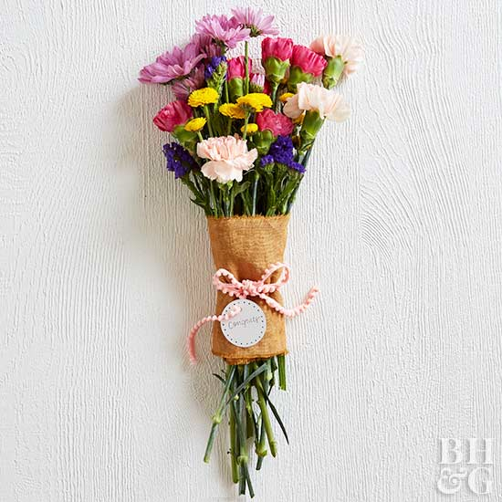 Make These Stunning Bouquet Wraps Better Homes Gardens