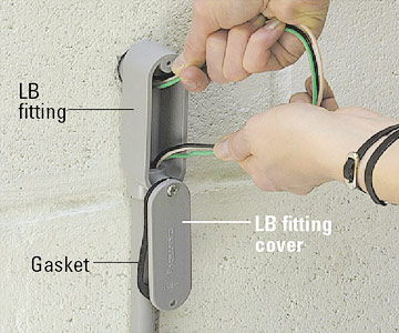 how to extend power outdoors rh bhg com outdoor wiring conduit not in outdoor  wiring without conduit