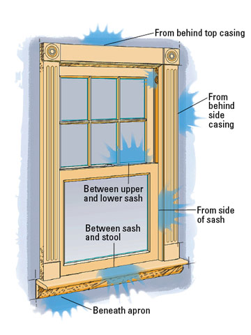 How To Weatherstrip Windows Better Homes Amp Gardens
