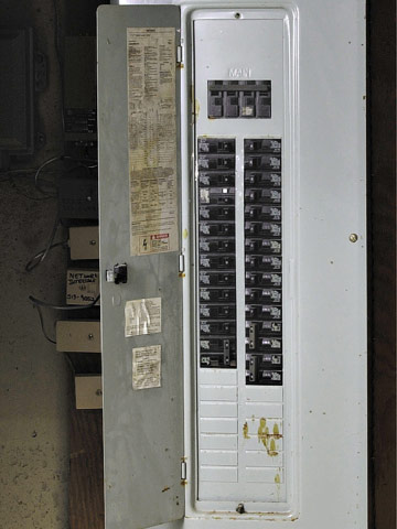 Understanding Your Home's Electrical Load | Better Homes & Gardens on main electrical panel, 150 amp electrical panel, murray 200 amp service panel, 200 amp main lug panel, 200 amp fused disconnect switch, electrical sub panel, 1000 amp service panel, 200 amp ge load center, 200 amp generator ready panel, square d 200 amp service panel, best 200 amp service panel, residential electrical plan panel, 50 amp service panel, 200 amp service panel load, 200 amp panel and receptacle, 200 amp service diagram, 400 amp service panel, outdoor 200 amp service panel, 200 amp home panel, 200 amp exterior service panel,