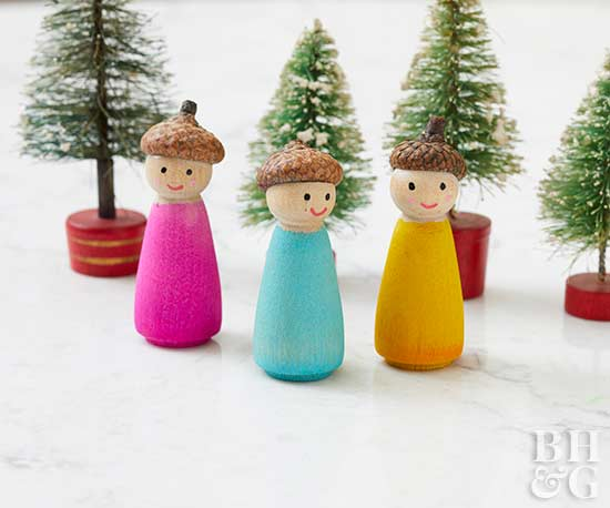 Adorable Woodland Winter People