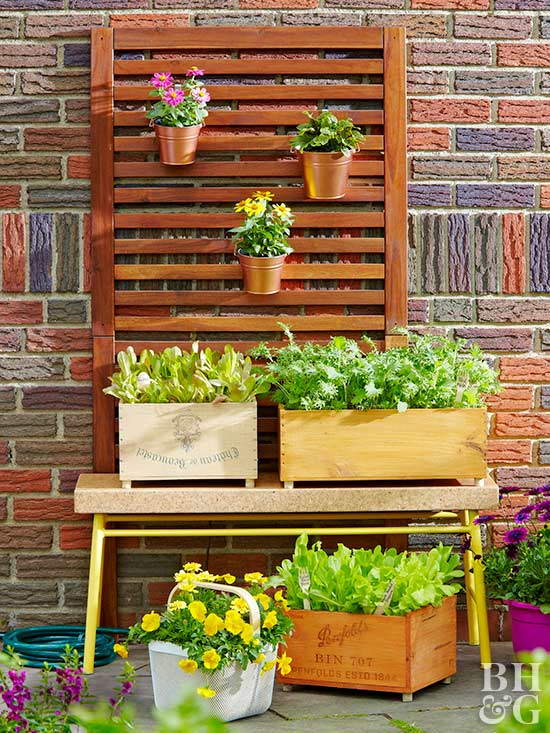 How to Make a Crate Planter