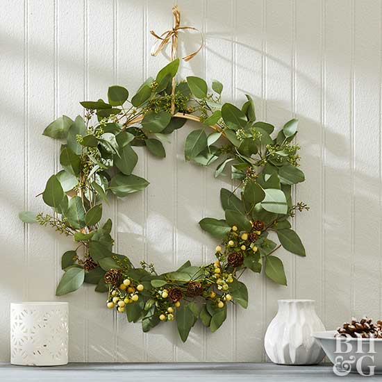 How to Make a Eucalyptus Wreath That Will Look Gorgeous in Any Season