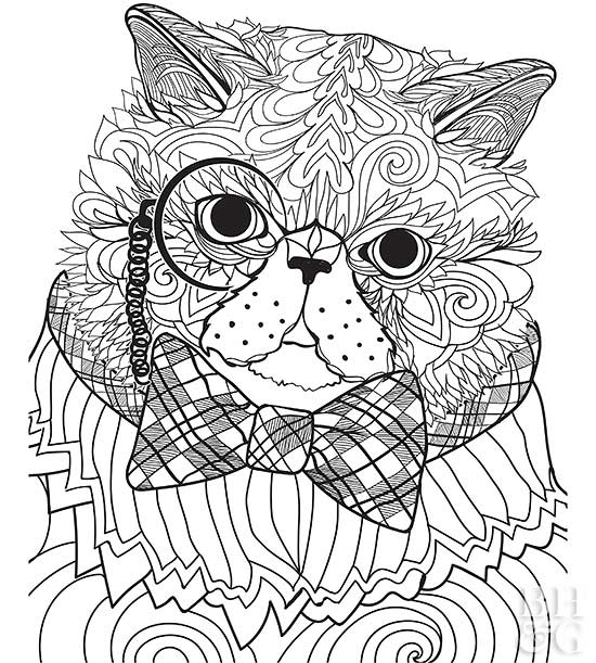 Pet Coloring Pages | Better Homes & Gardens