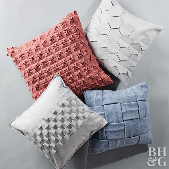 How to Make 3-D Geometric Pillows