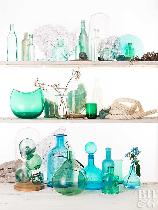 How to Decorate With Vintage Demijohns