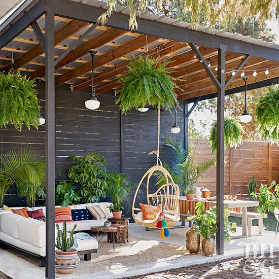 Colorful Backyard Decorating Ideas Better Homes Gardens