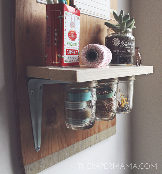 Your Entryway Needs this DIY Calendar Work Station