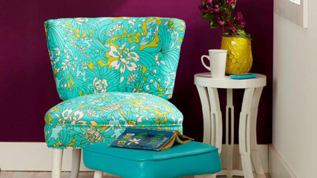 DIY Reupholster a Chair | Better Homes & Gardens
