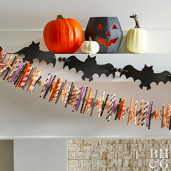 Make a Festive DIY Bat Garland